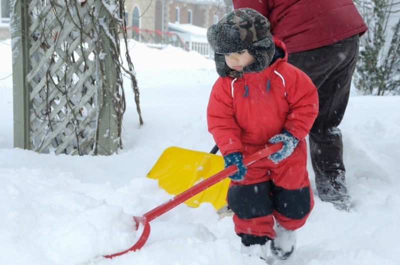 Helping-dad-with-the-snow-000008304825_Small