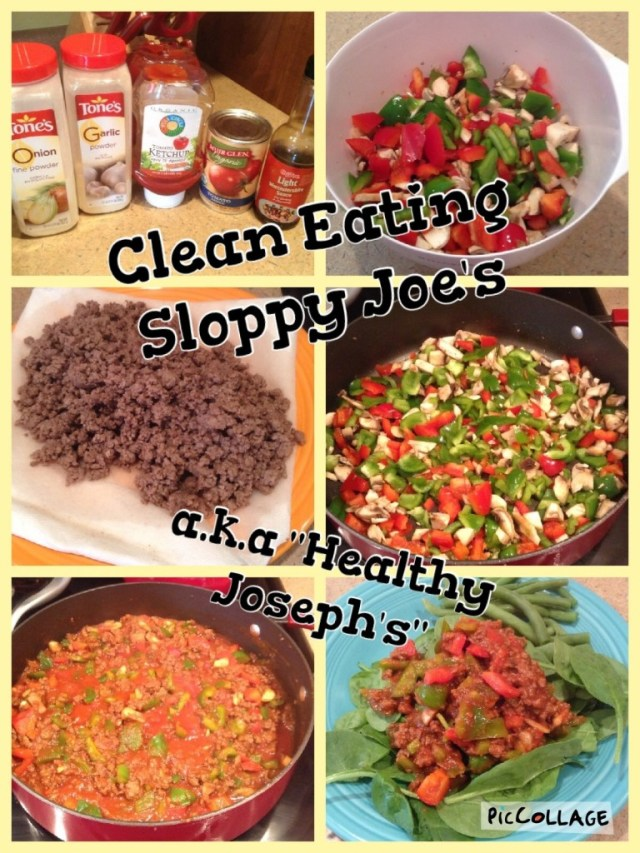 Clean Eating Sloppy Joe's aka Healthy Joseph's by Veggie Vesta