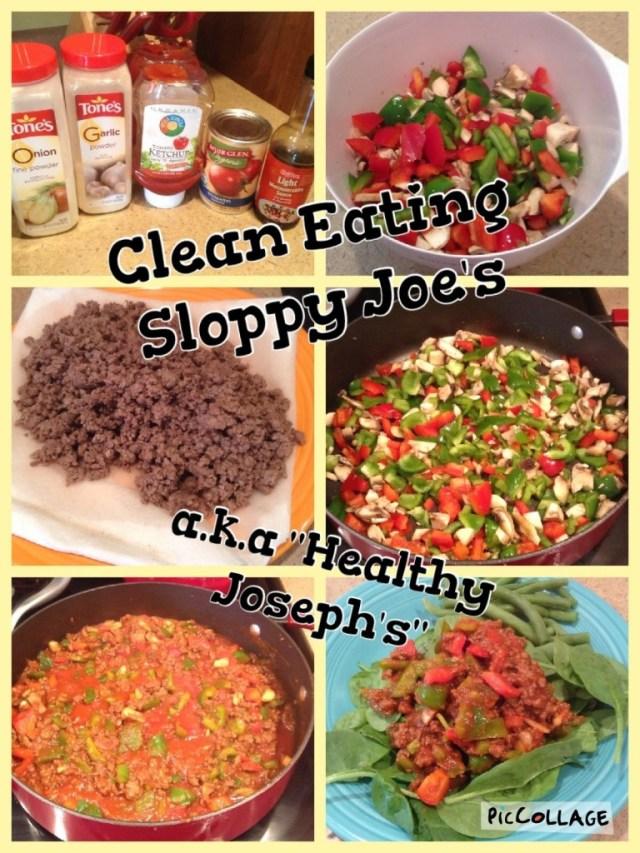 Clean Eating Sloppy Joe's aka Healthy Joseph's by Veggie Vesta