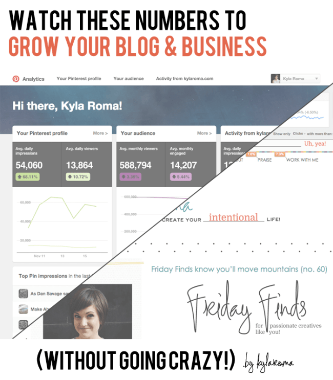 Watch These Numbers to Grow Your Blog and Business by Kyla Roma
