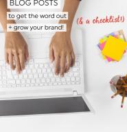 75 types of blog posts to grow your brand! Help spread the word about what you do, and help your audience thrive with 75 different styles of blog posts for your niche. Perfect to mix it up if you have writer's block!
