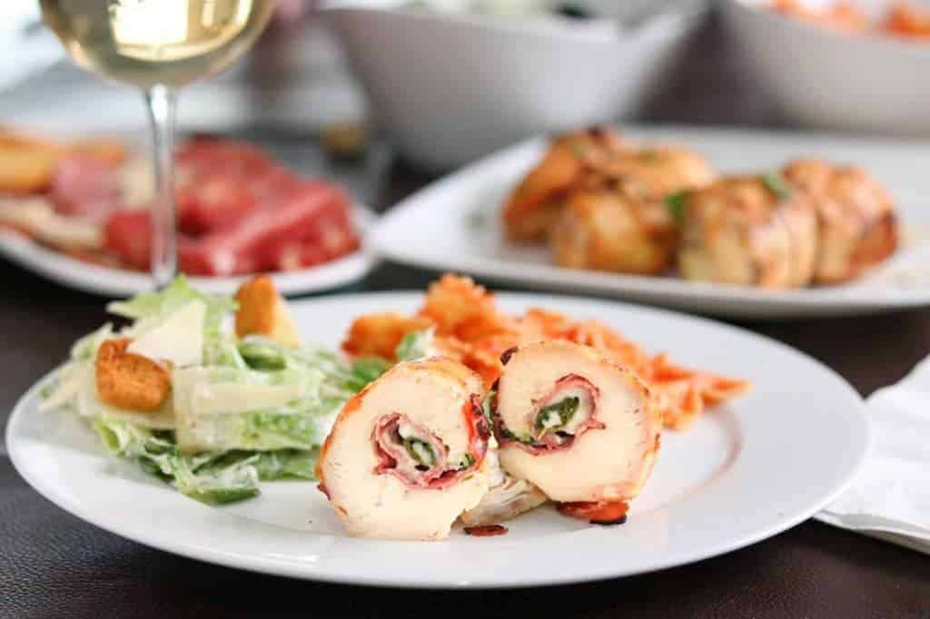 Grilled Italian Chicken Rollettes - Kylee Cooks