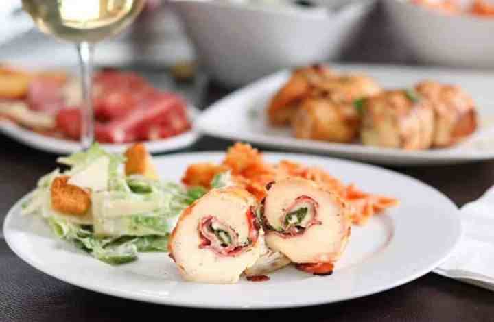 Grilled Italian Chicken Rollettes