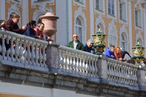 Peterhof - George on the Balcony