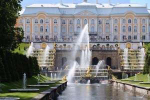 Peterhof - Summer Palace with fountains