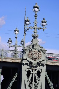 St. Petersburg Bridge detail