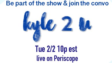 Join the convo and be part of the show this Tuesday as Kyle2U films live on transgenderism.
