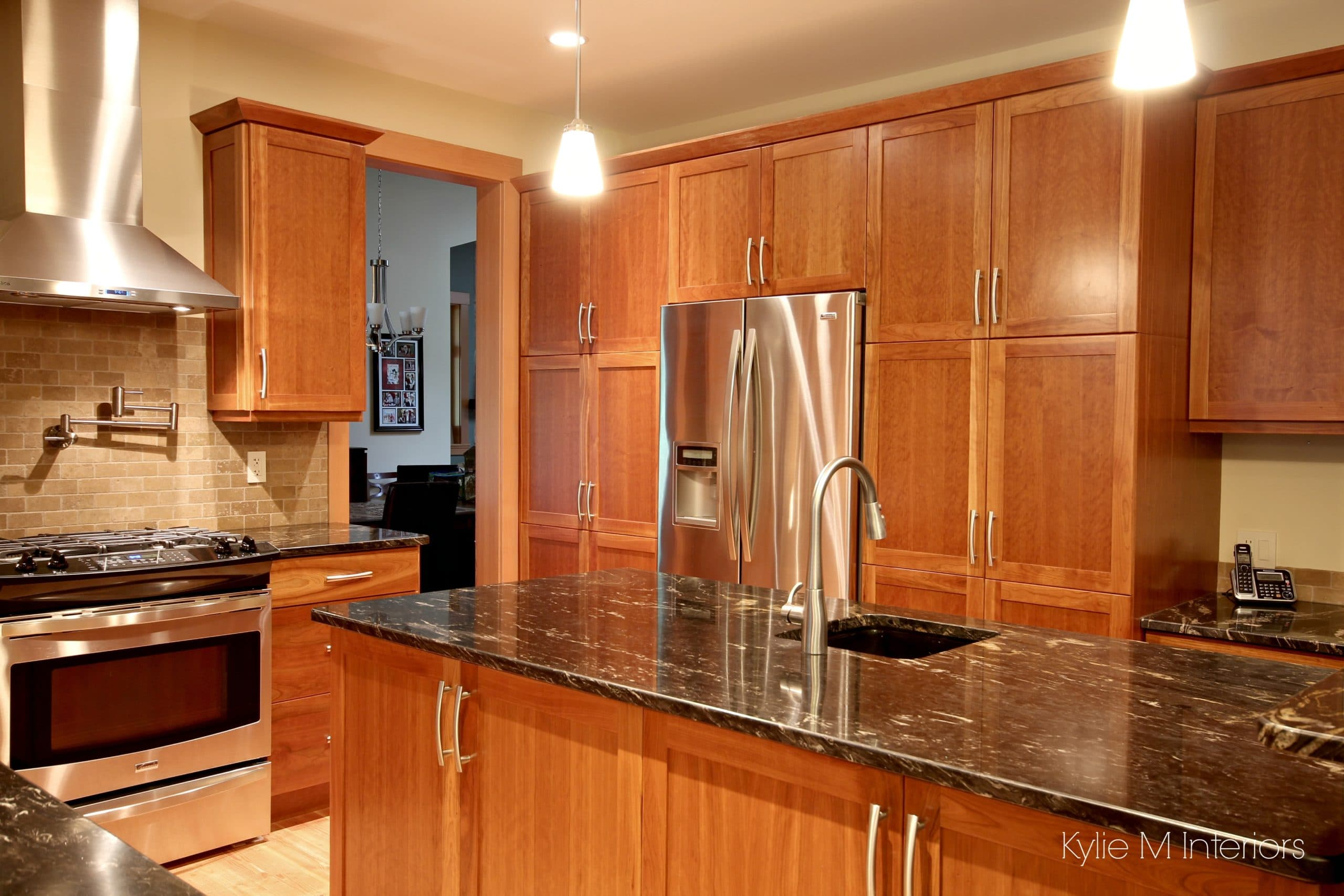 Cheerful Cherry Cabinets Pantry Stainless Kitchen Island Cabinets Over Kitchen Island Pantry Stainless Using Cabinets Black Granite Cherry Cabinets kitchen Cabinets For Kitchen Island