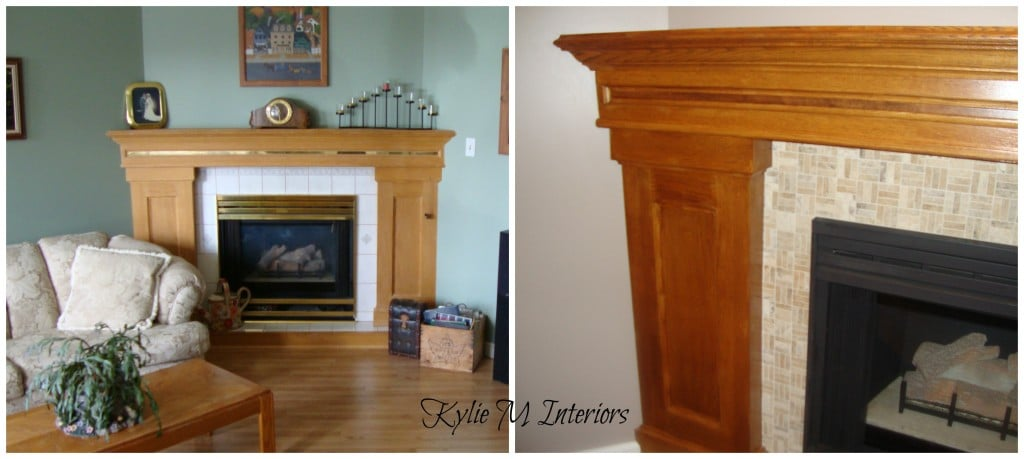 Ideas To Update Fireplace Surround Mantle And Brass Wood