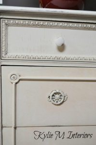 chalk painted dresser halo distressed