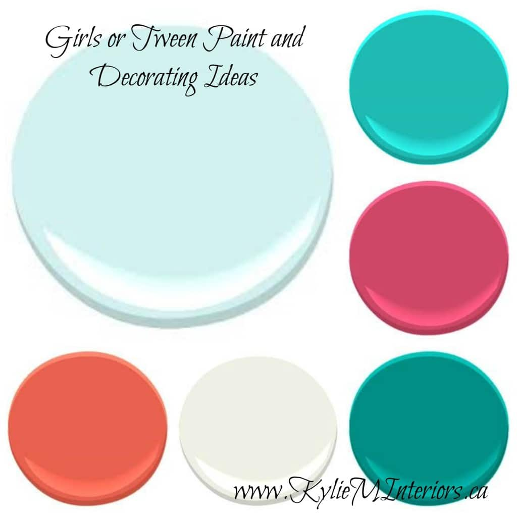 Paint Colour And Decorating Ideas For Girls Or Tween Using