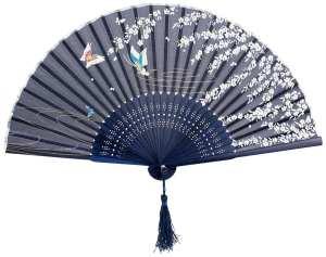 Japanese_Design_Silk_Handheld_Folding_Fan