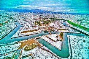 fort_goryokaku_view_in_winter