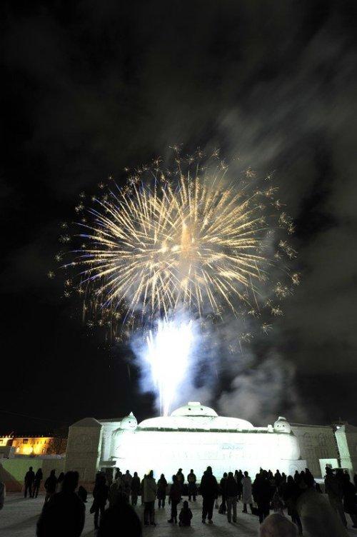 fireworks_at_asahikawa_winter_festival