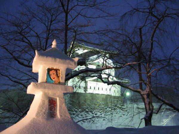 hirosaki_castle_snow_lantern_festival