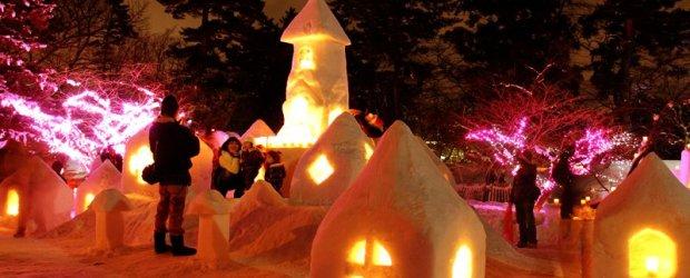 10 Best Snow Festivals in Japan