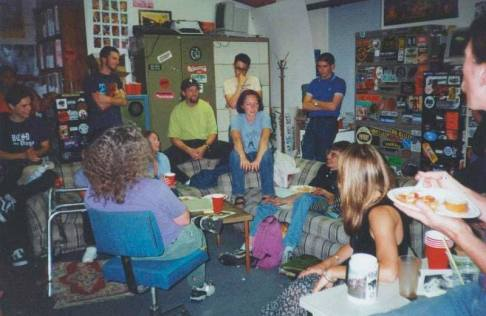 KZSC Staff Meeting long ago
