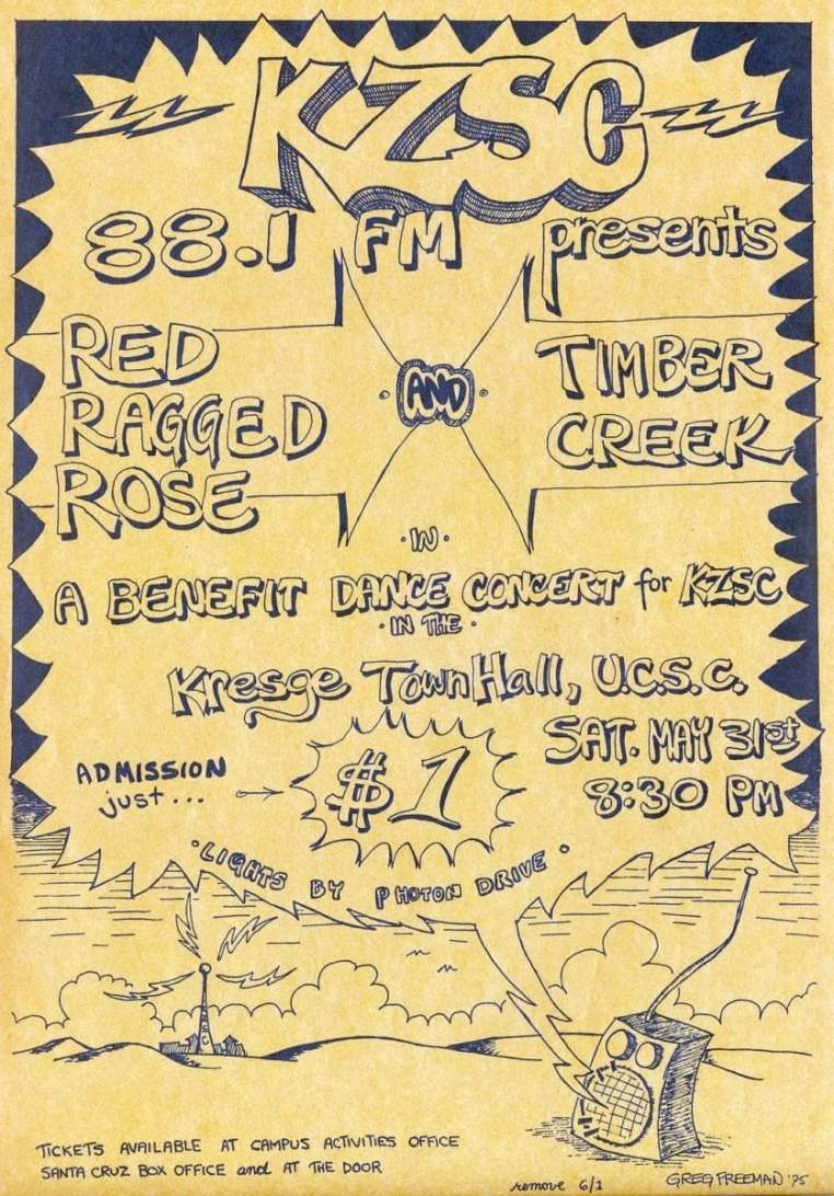 Poster - Benefit Dance Concert May 31, 1975