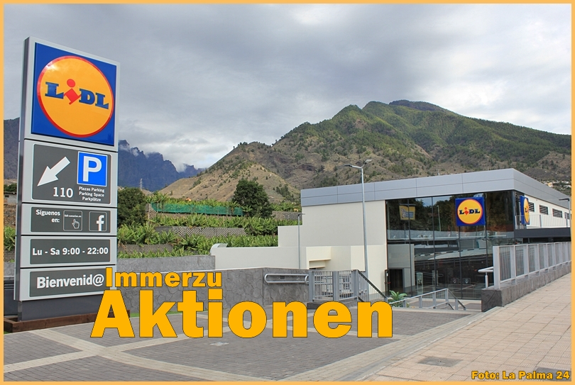 LIDL Los Llanos  Opening the 30 11 2017   La Palma 24 Journal LIDL los llanos outside title eroeffnung 2017
