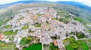 Ugíjar - A vista de pajaro - Autor David Torres Gallegos