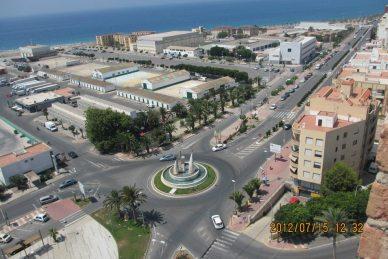 Adra - Si miramos desde la Torre de los Perdigones - Autor Pepe Díaz