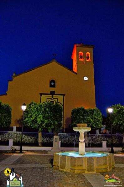 Ugíjar - Iglesia y Placeta de las Flores - Autor Antonio Quintana Bueso