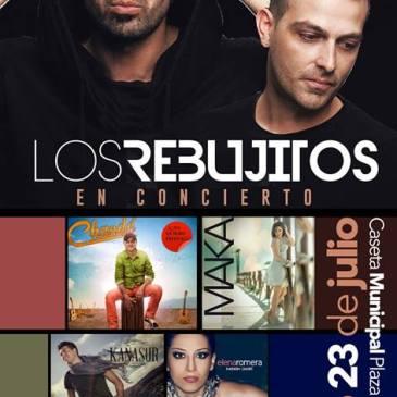 """Albondón – """"Los Rebujitos"""" en concierto"""