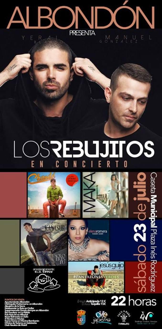 Albondón - Los Rebujitos en concierto