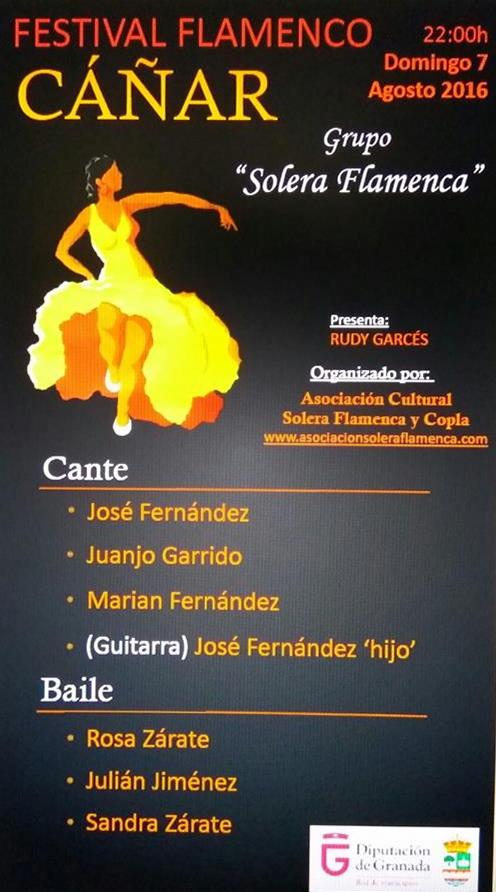 Cáñar – Festival Flamenco