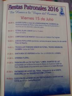 Castell de Ferro - Fiestas Patronales de la Virgen del Carmen 2016 - 4