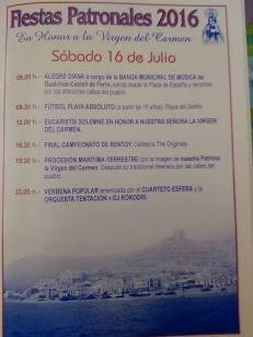 Castell de Ferro - Fiestas Patronales de la Virgen del Carmen 2016 - 5