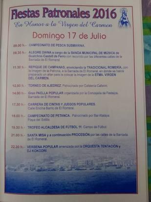Castell de Ferro - Fiestas Patronales de la Virgen del Carmen 2016 - 6