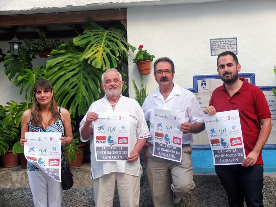 El tejido socioeconómico de Lanjaron se une para poner en valor el Patrimonio del municipio