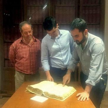 La Mancomunidad de La Alpujarra defiende el archivo histórico de Ugíjar como foco de conocimiento de la comarca