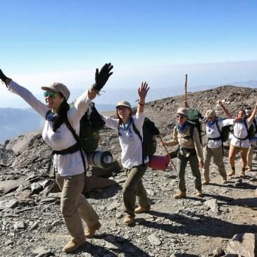 XXXI Ruta BBVA llega a hasta la cumbre de La Alpujarra, el Mulhacén (3479 metros)