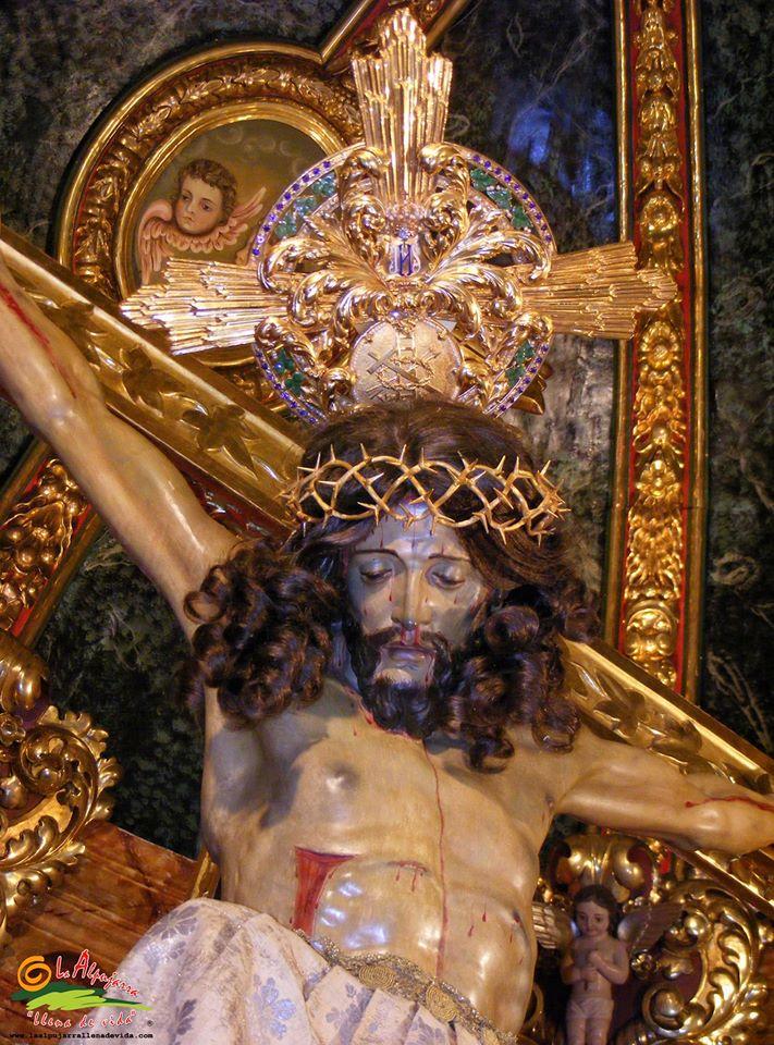 Santo Cristo de la Yedra patrón de Válor y de La Alpujarra