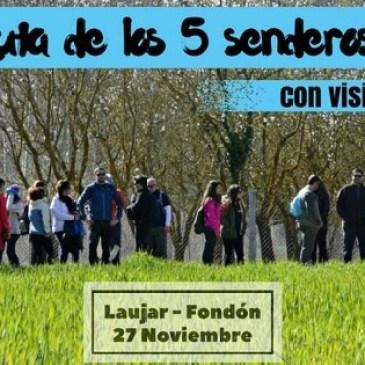 Ruta de senderismo cultural por La Alpujarra – 27/11/2016