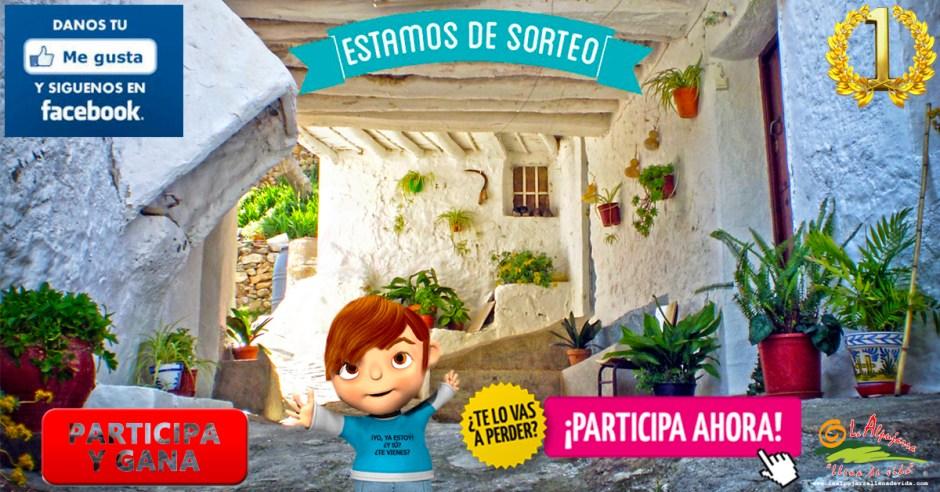 """SORTEO - Una semana """"Como Reyes en La Alpujarra"""""""