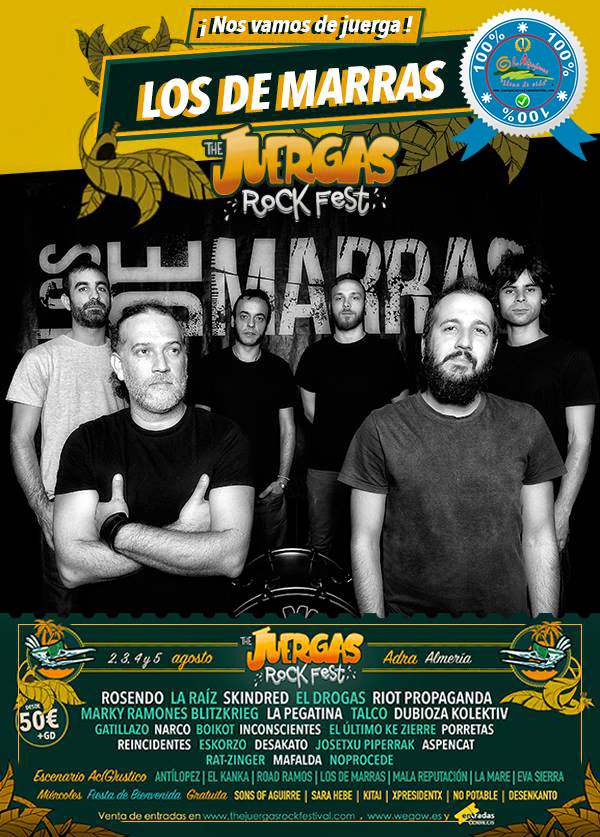 The Juergas Rock Festival - Adra - La Alpujarra - Almería 2017 - Grupo 27