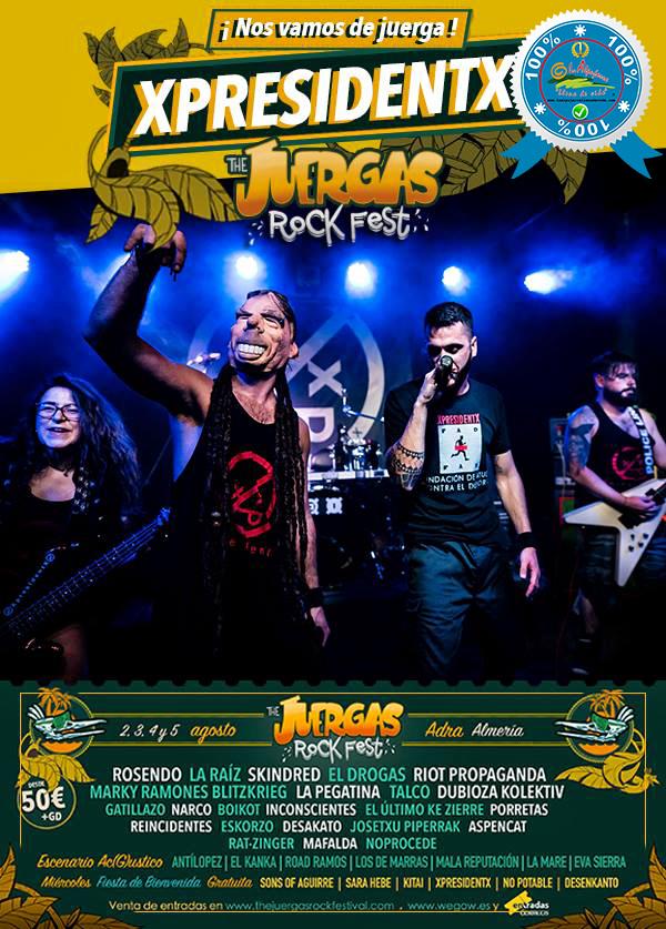 The Juergas Rock Festival - Adra - La Alpujarra - Almería 2017 - Grupo 34