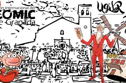 XXII Salón Internacional del Cómic de Granada 2017 en Ugíjar – La Alpujarra
