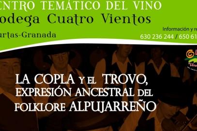 Conferencia sobre la Copla y el Trovo. Expresion ancestral del folklore Alpujarreño