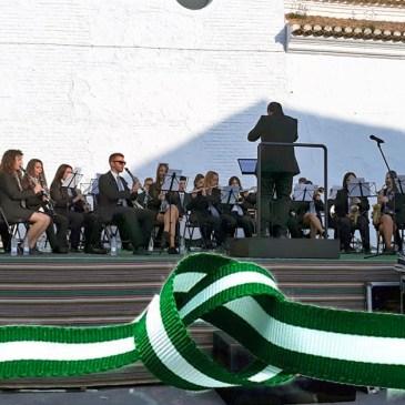 Himno de Andalucía interpretado por más de 200 músicos alpujarreños