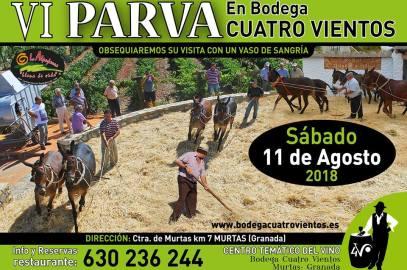 VI Parva en Bodega Cuatro Vientos – Murtas – La Alpujarra – Granada