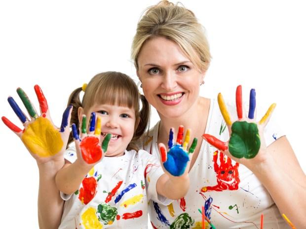 Actividades para niños de 1 a 3 años: ¡Pinten con el cuerpo! | La ...