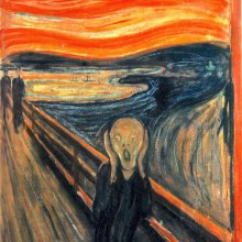 "Les 5 versions de ""Le Cri"" d'Edvard Munch"