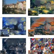Un réseau de neurones peint une photo en imitant des grands peintres