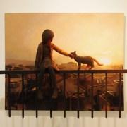 Des peintures qui adoptent la troisième dimension