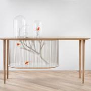 La table cage à oiseaux