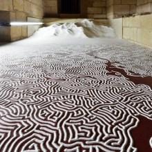 Un labyrinthe de sel à Aigues-Mortes